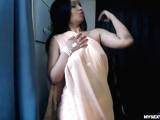 Horny Lily Playing Indian Mom Role Have Fun Seducing Step Son-in-law
