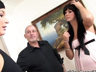 Fabulous Pornographic Stars India Summer, Alison Tyler, Mark Davis In Horny Big Tits, Dark-haired Xxx Clip